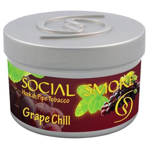 shisha tabak social smoke 100gr grape chill produkte. Black Bedroom Furniture Sets. Home Design Ideas