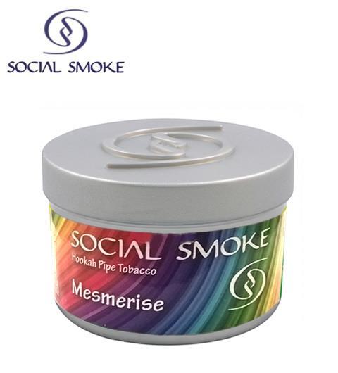 shisha tabak social smoke 100gr mesmerise produkte. Black Bedroom Furniture Sets. Home Design Ideas