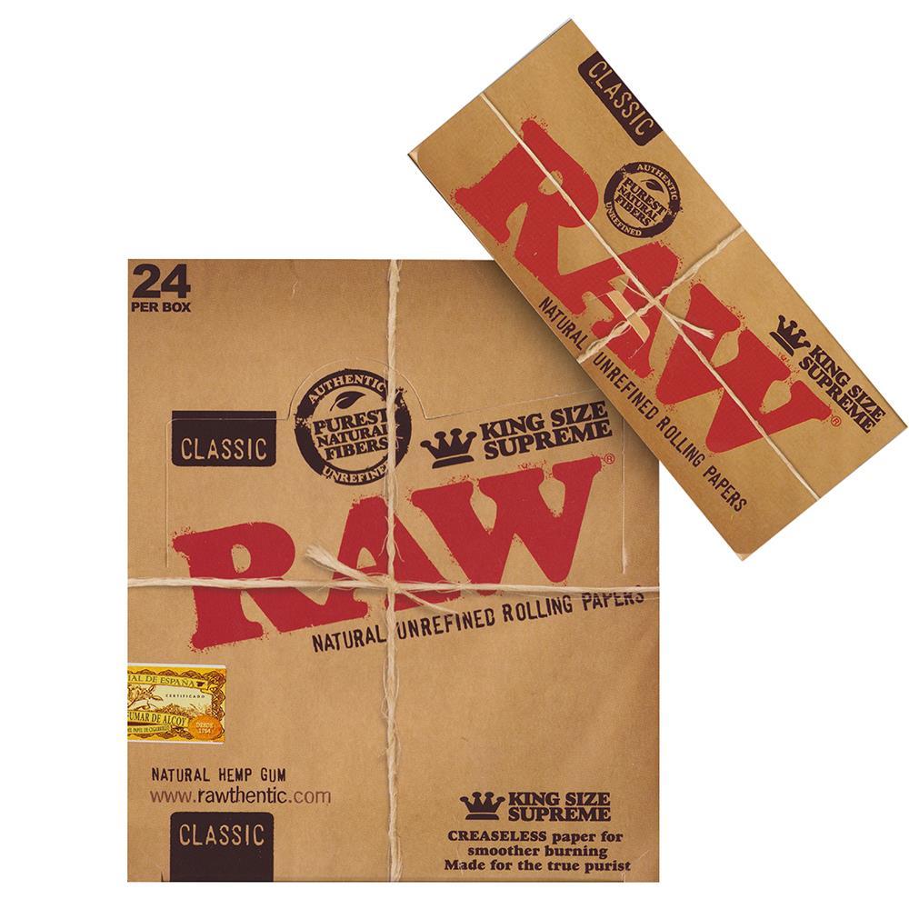 raw ks supreme brown produkte tamar headshop. Black Bedroom Furniture Sets. Home Design Ideas