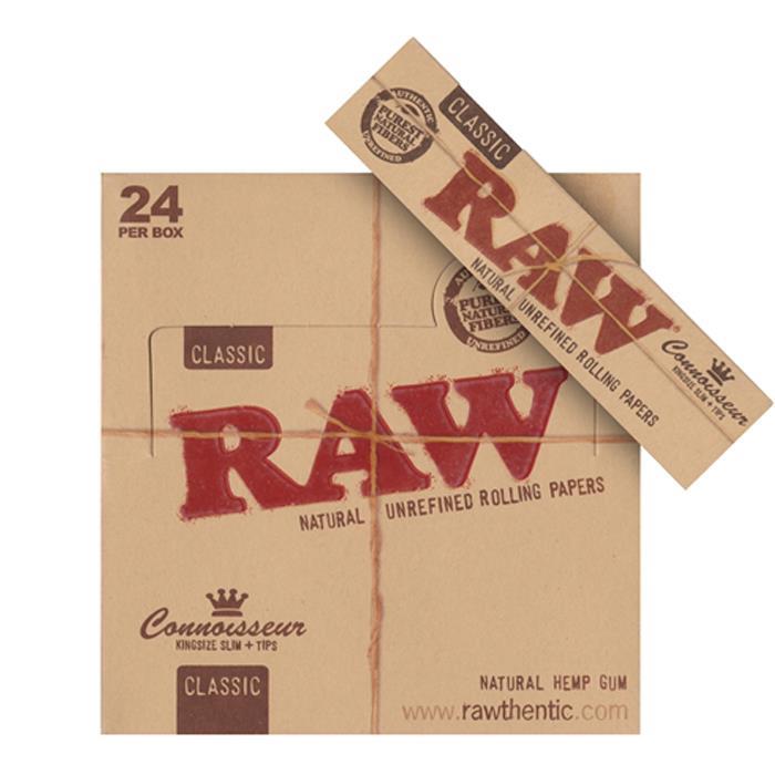 raw ks slim connaiseur mit filter brown produkte tamar. Black Bedroom Furniture Sets. Home Design Ideas