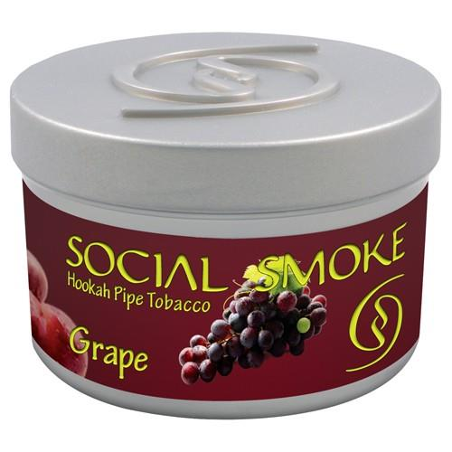shisha tabak social smoke 100gr grape produkte tamar. Black Bedroom Furniture Sets. Home Design Ideas
