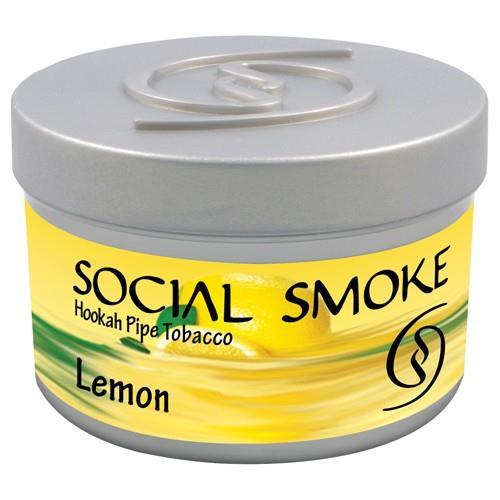 shisha tabak social smoke 100gr lemon produkte tamar. Black Bedroom Furniture Sets. Home Design Ideas