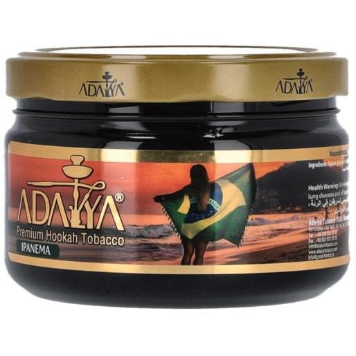 shisha tabak adalya 200gr ipanema produkte tamar headshop. Black Bedroom Furniture Sets. Home Design Ideas